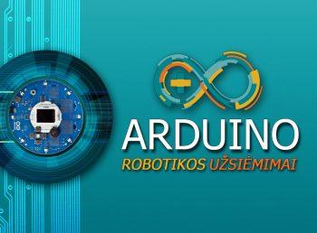 arduino robotikos užsiėmimai