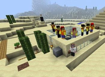 Edukaciniai Minecraft užsiėmimai