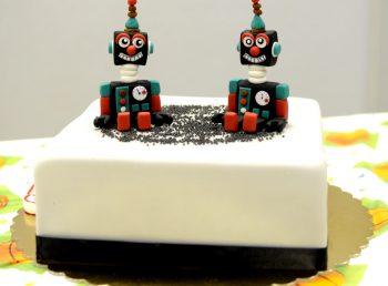 gimtadienis išmanusis robotų šou