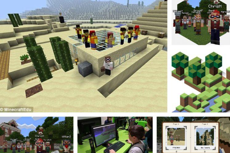 Minecraft edukaciniai užsiėmimai